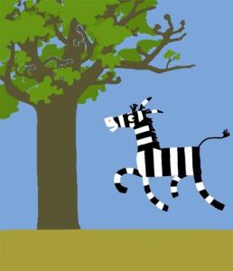 Zebra e a diferança